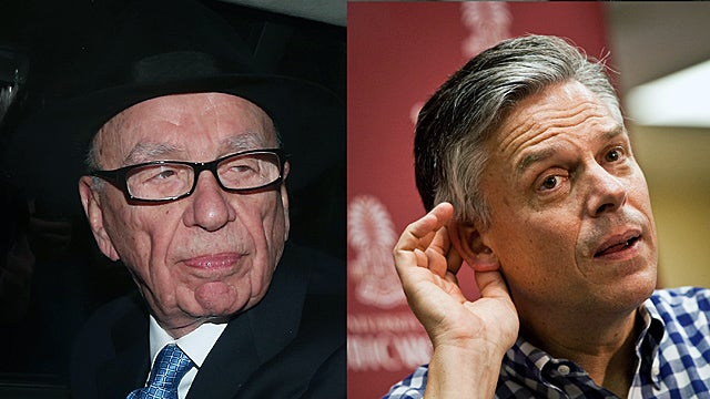 Wall Street Journal Fights Back Against Claims Rupert Murdoch and Jon Huntsman Fed It a Bullshit Rumor