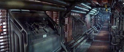 Which Science Fiction Movie Gives The Best Corridor?