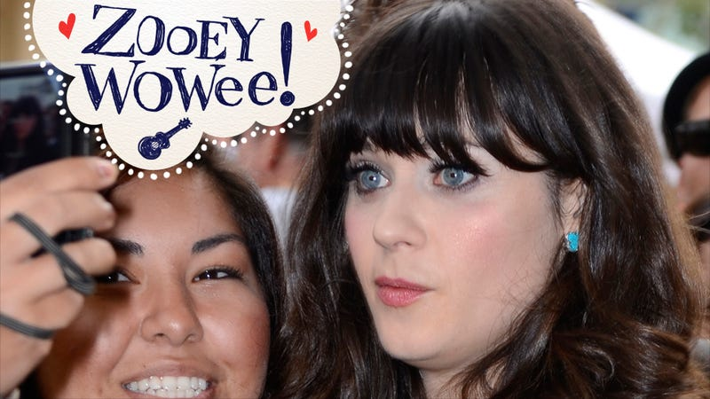 Zooey Deschanel Might Be in Time-Travel Movie