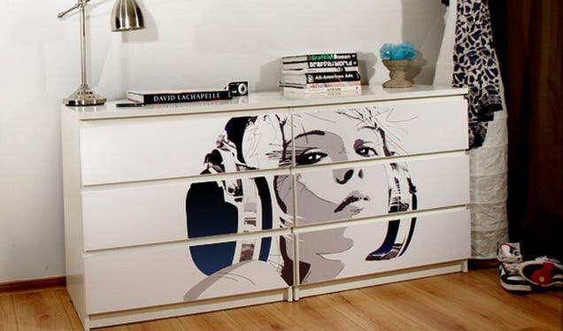 Mykea Offers Custom Skins to Personalize Your IKEA Furniture