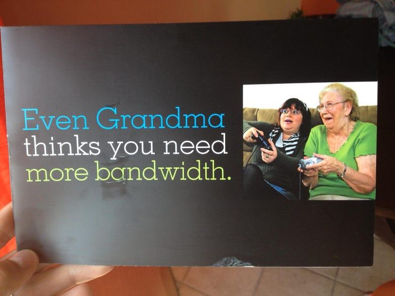 Grandma Loses in Video Games, Blames Bandwidth
