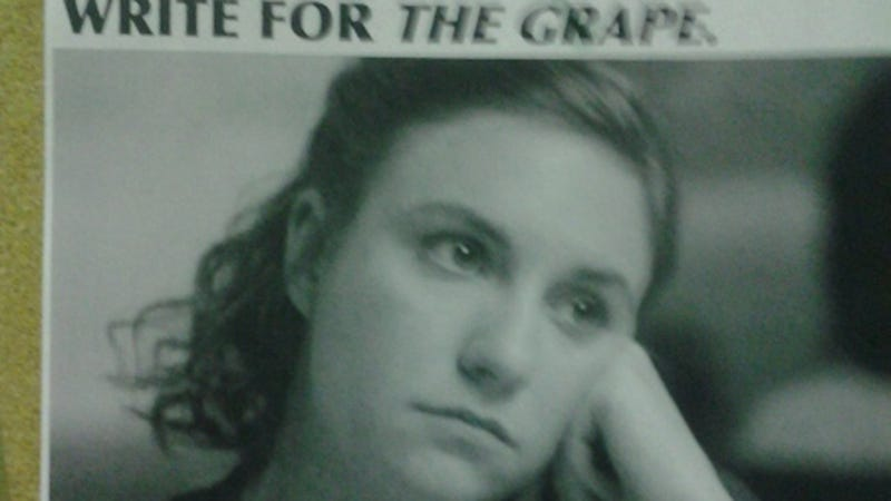Oberlin Student Paper Tries to Hook Students By Name-Dropping Lena Dunham