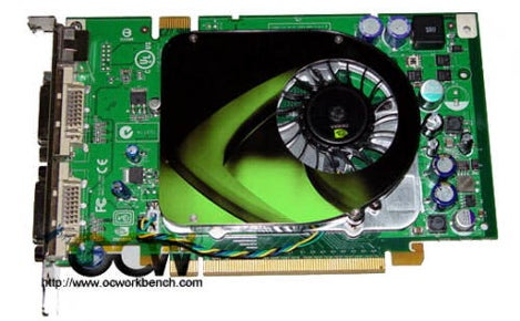 PNY Accidentally Outs Nvidia GeForce 8600