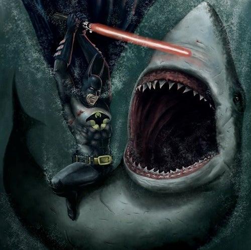 Meet Lightsaber Batman Vs. Shark Artist Andrew Zubko