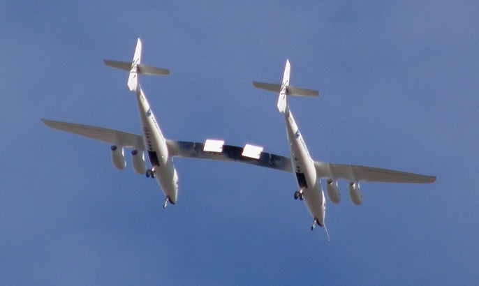 Virgin Galactic's WhiteKnightTwo Flies For the First Time