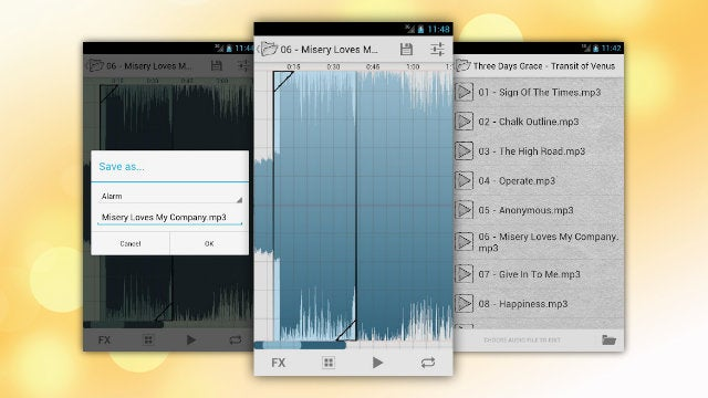 Ringtone Slicer Builds and Edits Custom Ringtones Right on Your Android Device