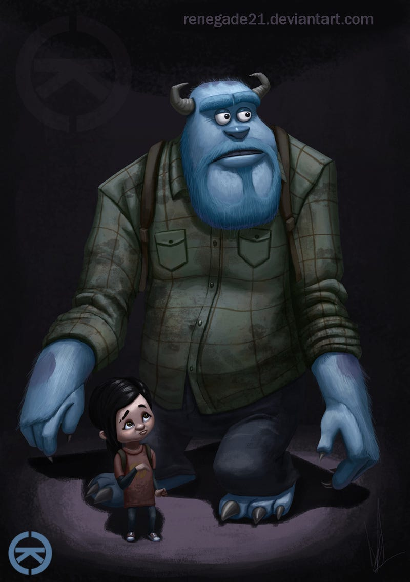 If Pixar Characters Starred In Our Favorite Games...