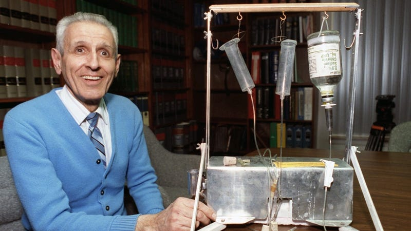 Jack Kevorkian's Assisted Suicide Tools (and Van)