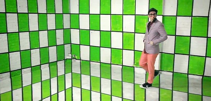 El nuevo v deo musical de ok go es pura ilusi n ptica for Ilusiones opticas en el suelo
