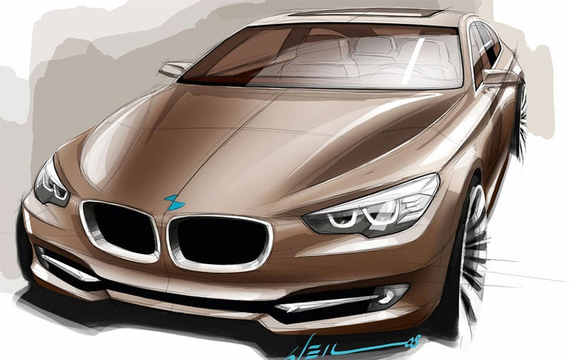 2010 BMW 5-Series GT Design Sketches