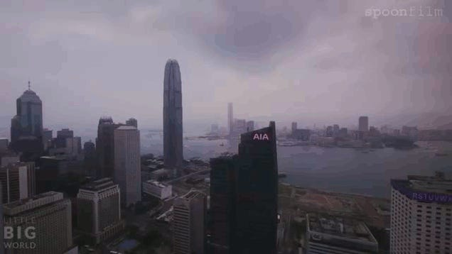 Hong Kong in all its Hazy, Timelapse-y Glory