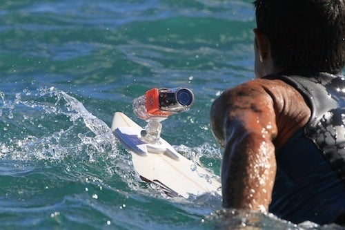 A Surfboard Mount for the ContourHD Camera