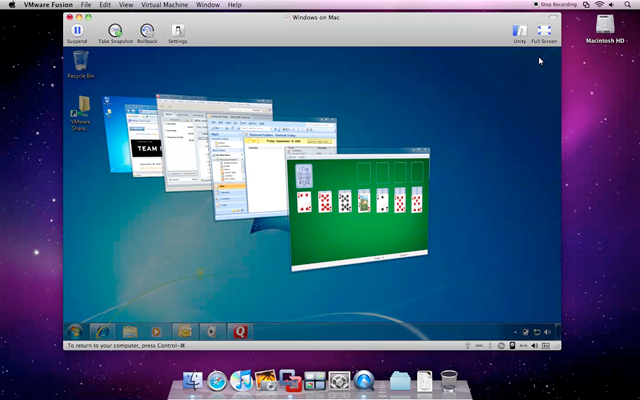 VMware Fusion Updates with Excellent Windows 7 Support