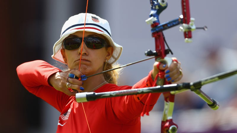 Hunger Games Archery Expert Competed in the Olympics Today