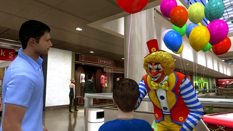 Heavy Rain Screenshots: Clown