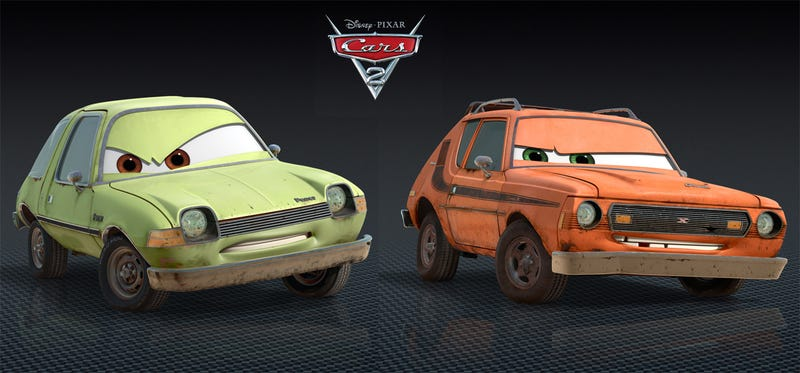 "Meet ""Grem"" and ""Acer,"" Cars 2's newest car stars"