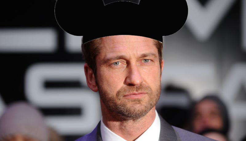 A Glimpse Into Gerard Butler's Big Day at Disneyland