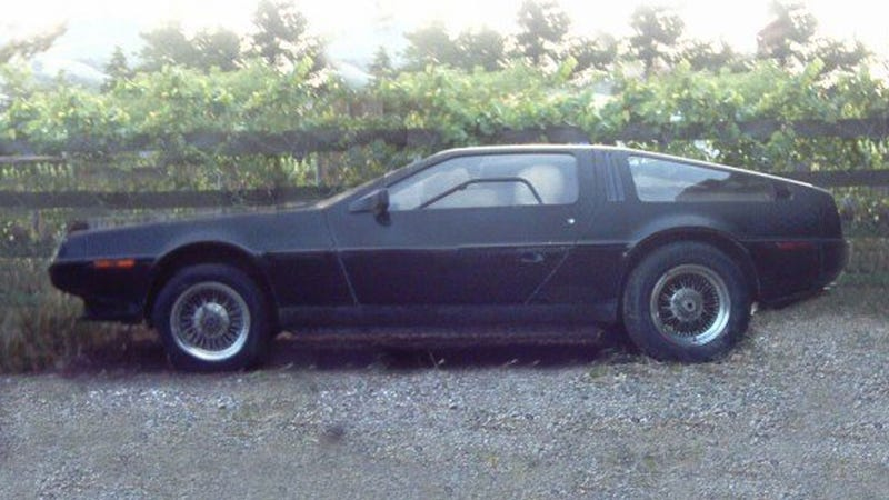 Help Find This Stolen And Incredibly Original Black Delorean