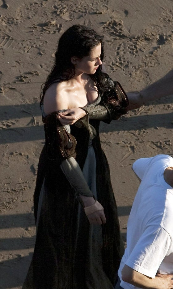 Snow White and the Huntsman Set Photos