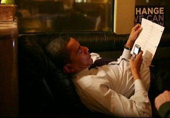 Gossip Rag Says Obama is BrickBreaker Fiend