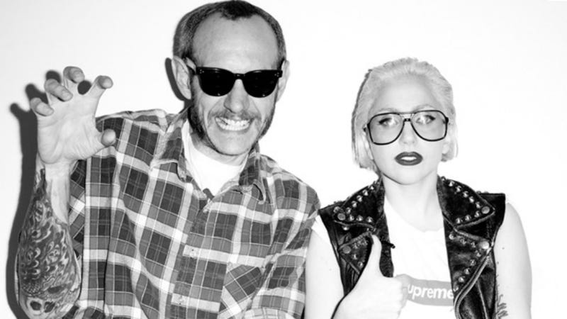 Yeah, Lady Gaga and Terry Richardson Are Definitely Making a Movie