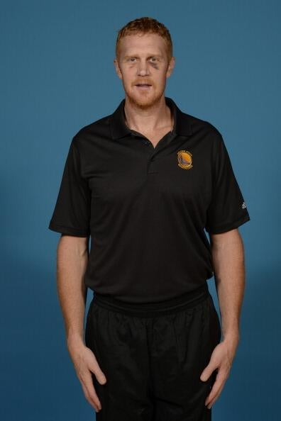 Brian Scalabrine Showed Up To Media Day With A Black Eye