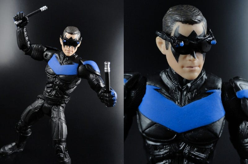 What would Nightwing have looked like in The Dark Knight Rises? [Spoilers]