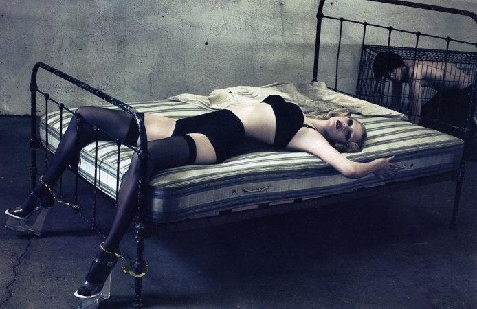 February French Vogue: Steven Klein Model Zombies & NSFW Nan Goldin