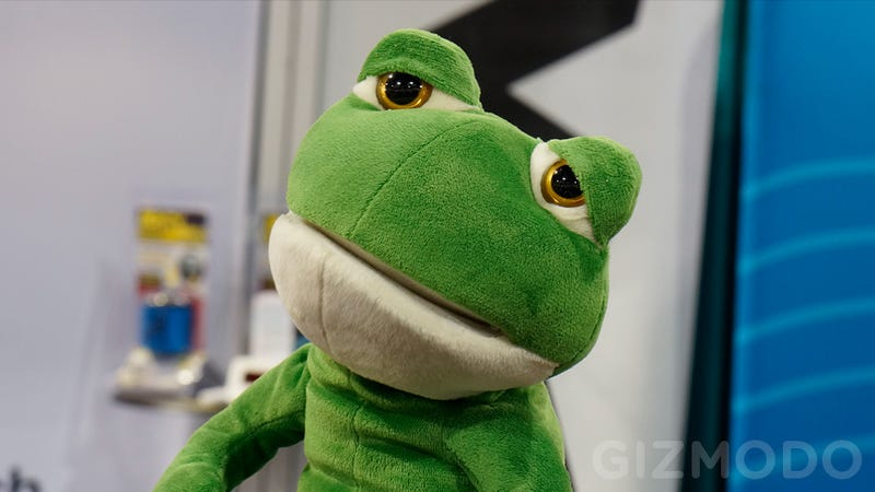 How Will This Sad, Sad Singing Frog Find the Will To Perform For Four Straight Days?