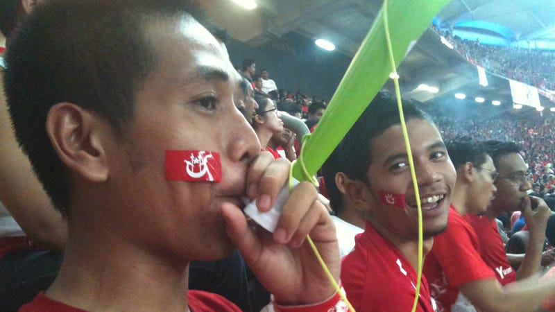 What It's Like Being The Only Drunk One At The Frenzied Malaysian Soccer Cup