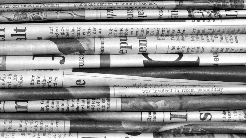 We Produce Six Newspapers' Worth of Information a Day