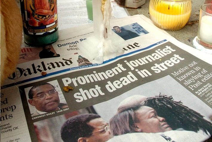 Two Convictions in Murder of Oakland Newspaper Editor