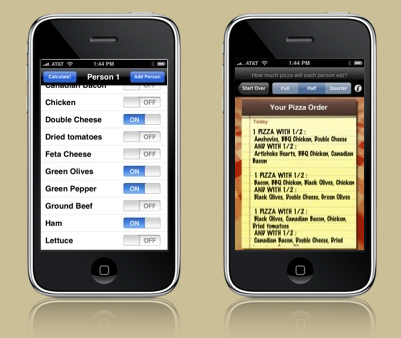 Pizza Calculator Is Probably the Most Useful iPhone Application Yet