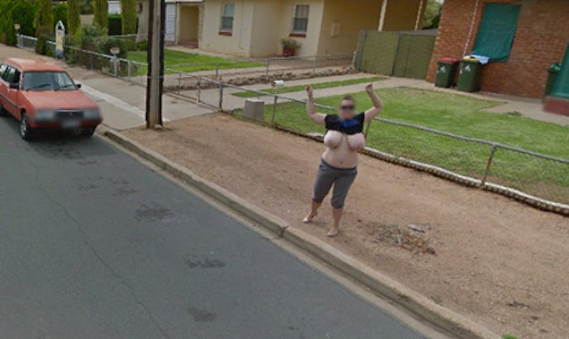 Naked Women Uncensored Google Maps