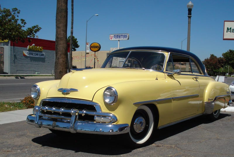 I possibly have an opportunity to get a 50-54 bel air or similar