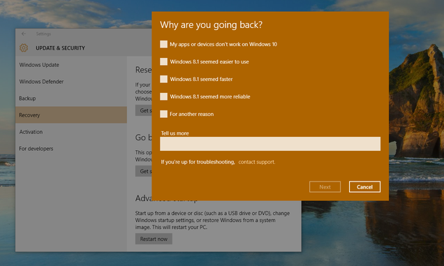 PSA: Windows 10 Isn't a Risk-Free Upgrade