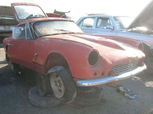 1967 Triumph GT6 Down On The Junkyard