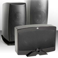 NHT Flattens its New Verve Line of Speakers