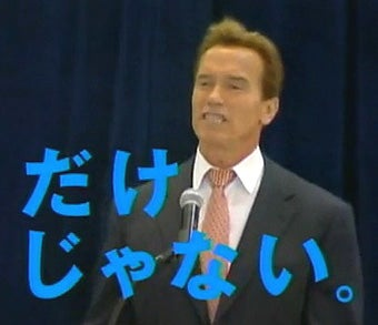 Schwarzenegger Ad to Make California Big in Japan