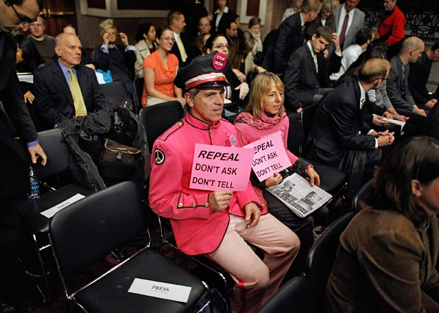 'Don't Ask Don't Tell' Repeal Is Dead