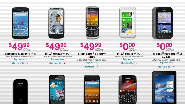 T-Mobile Is Blowing Out Some Awesome Phones This Weekend