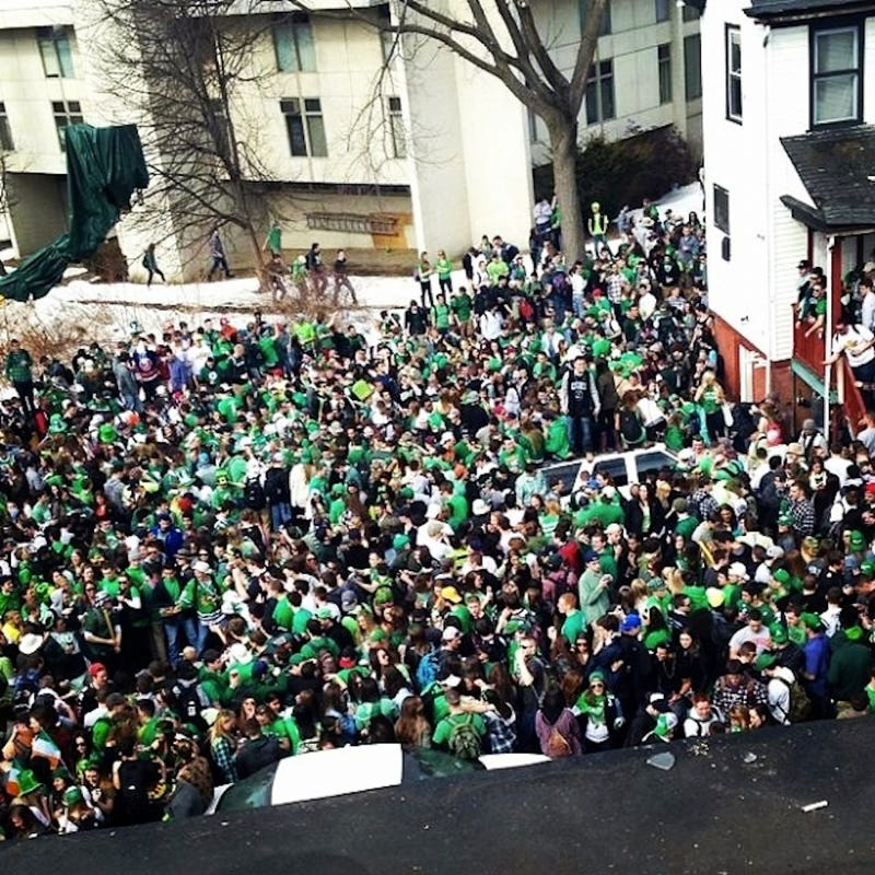 Drunken Unruliness Led to 73 Arrests at Amherst St. Paddy's Day Party