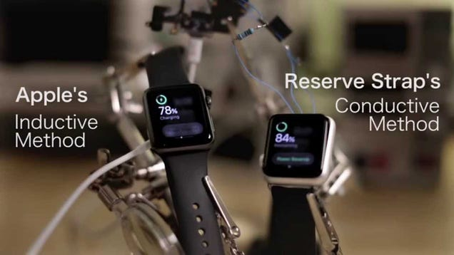 Devs Are Already Using the Apple Watch's Hidden Port To Charge It Faster