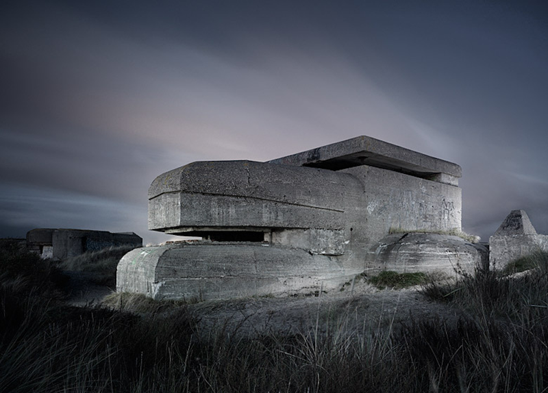The Eerie Abandoned Bunkers of WWII