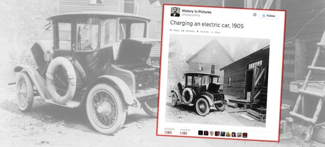 This Electric Car Charging Picture Going Around The Internet Is Wrong