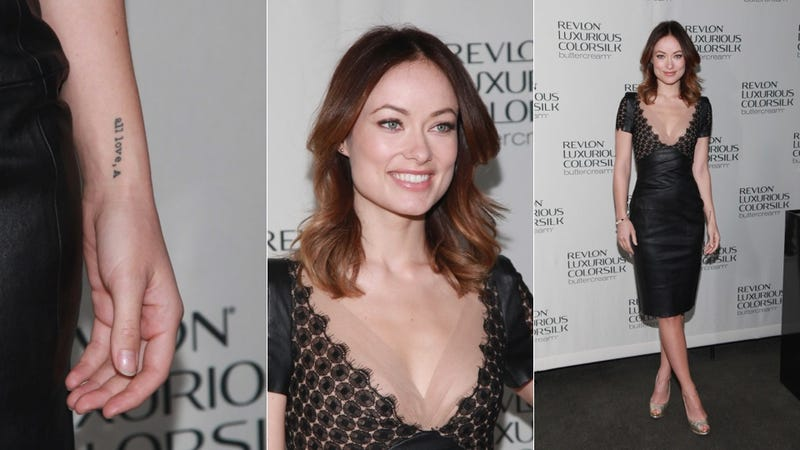 Olivia Wilde Is Feeling Under the Leather