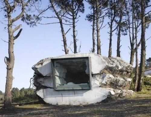 This Cave House Was Built By A Cow. Seriously.
