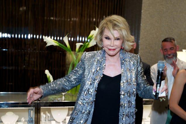 Report: Joan Rivers Was Rich as a Motherfucker