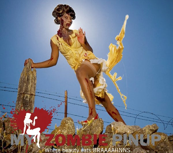 Zombie Pin-Up Calendar Will Make Your Blood Race