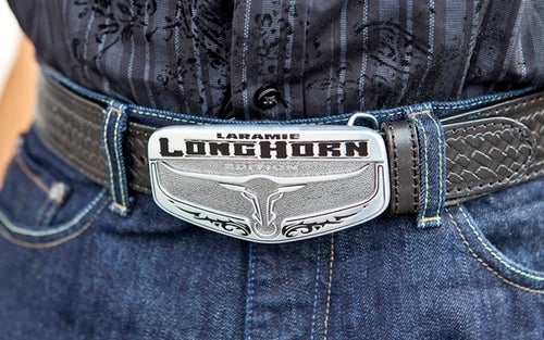 Ram Laramie Longhorn Edition: Belt Buckle Seats! Belt Buckle Seats!